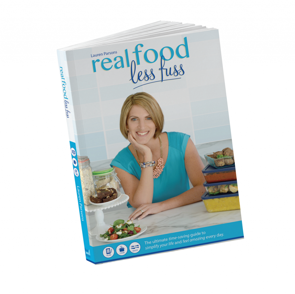 real food less fuss by Lauren Parsons