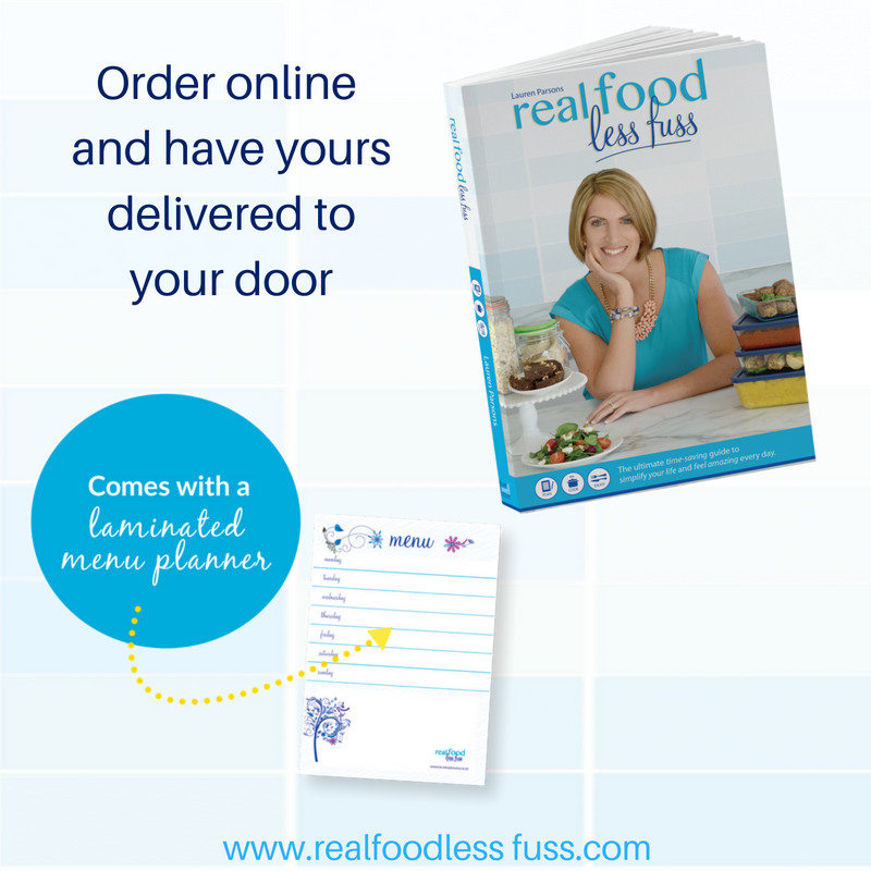 real food less fuss order online - sq