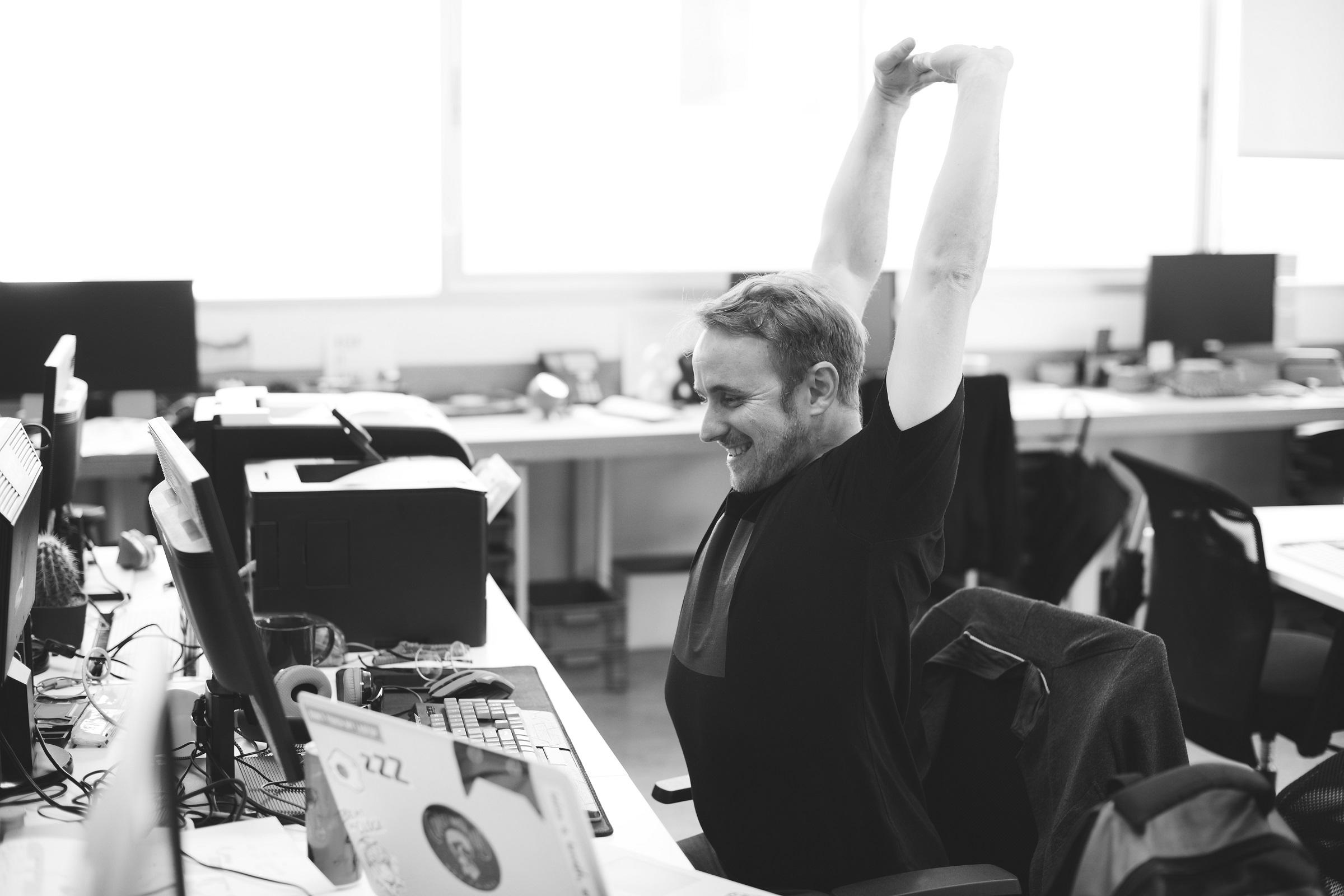 Office Worker - Breaks - Boost Productivity - Lauren Parsons