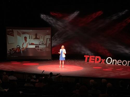TEDxOneonta - Lauren Parsons - Snack on Exercise 7 stories