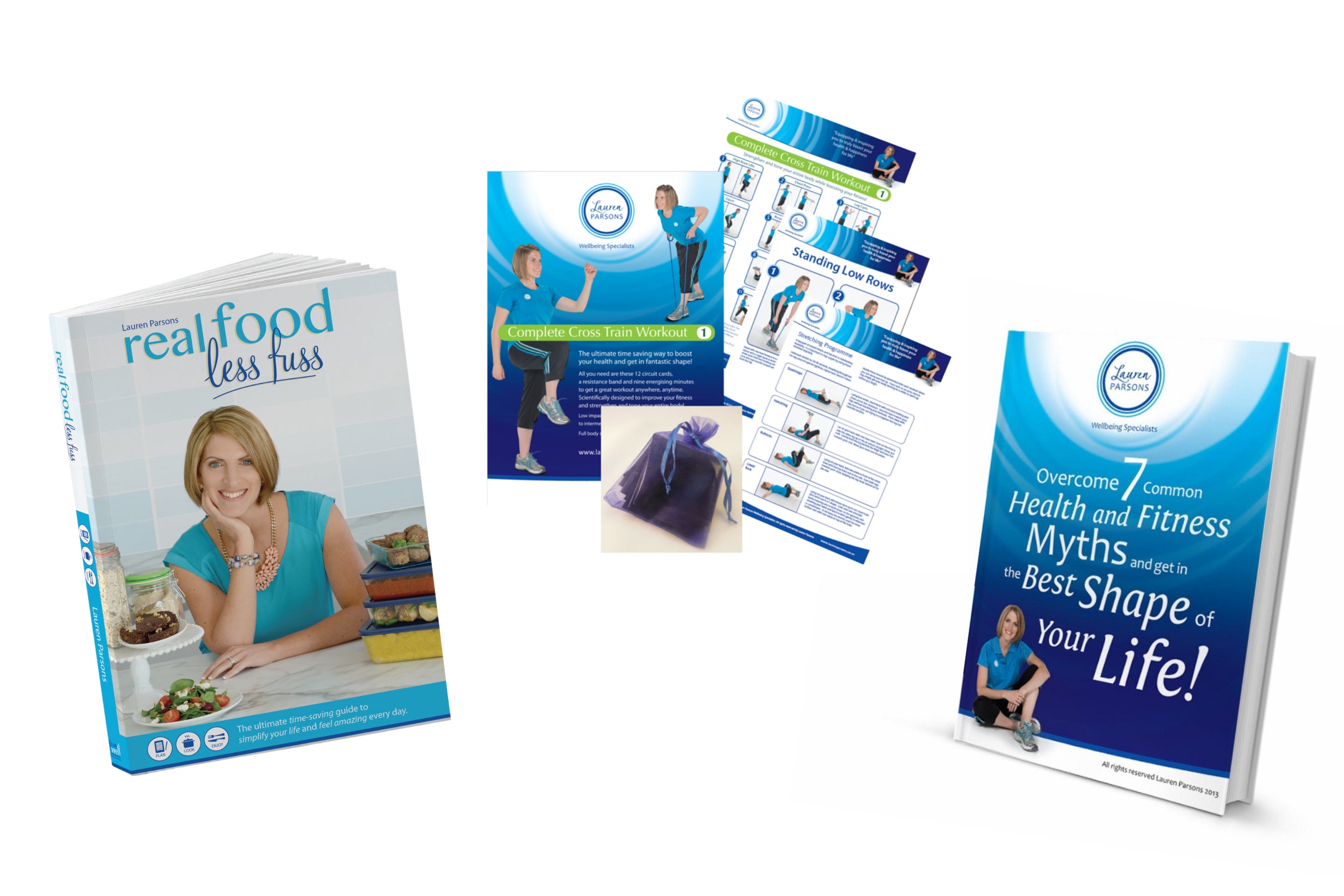 Lauren Parsons Books and Exercise Programmes