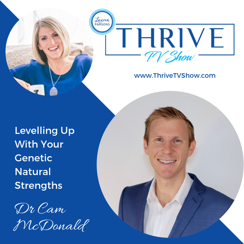 Lauren Parsons Wellbeing Specialists Thrive TV Show Podcast Cam McDonald