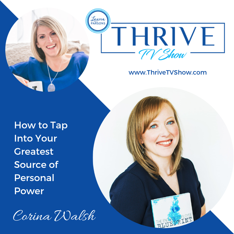 Lauren Parsons Wellbeing Specialists Thrive TV Show Podcast Corina Walsh