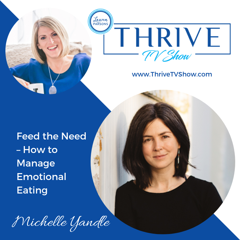 Lauren Parsons Wellbeing Specialists Thrive TV Show Podcast Michelle Yandle