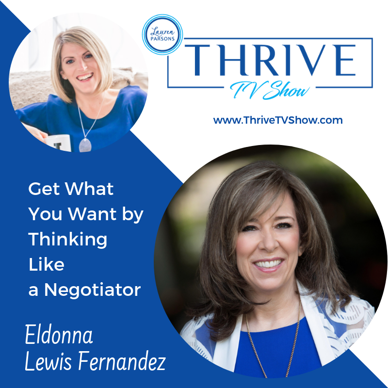 Lauren Parsons Wellbeing Specialists Thrive TV Show Podcast Eldona Lewis Fernandez