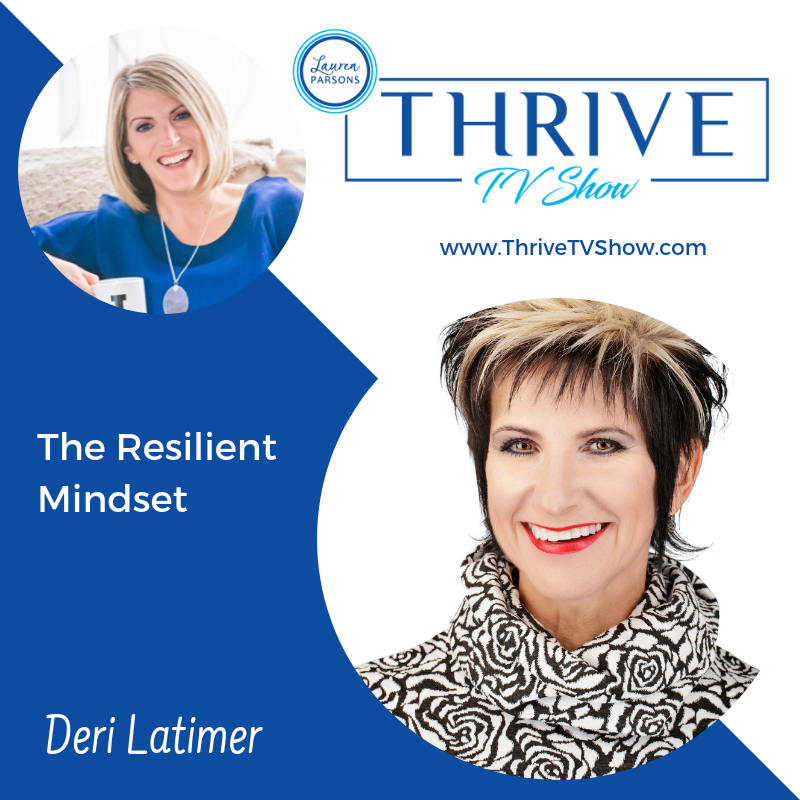 Lauren Parsons Wellbeing Specialists Thrive TV Show Podcast Deri Latimer