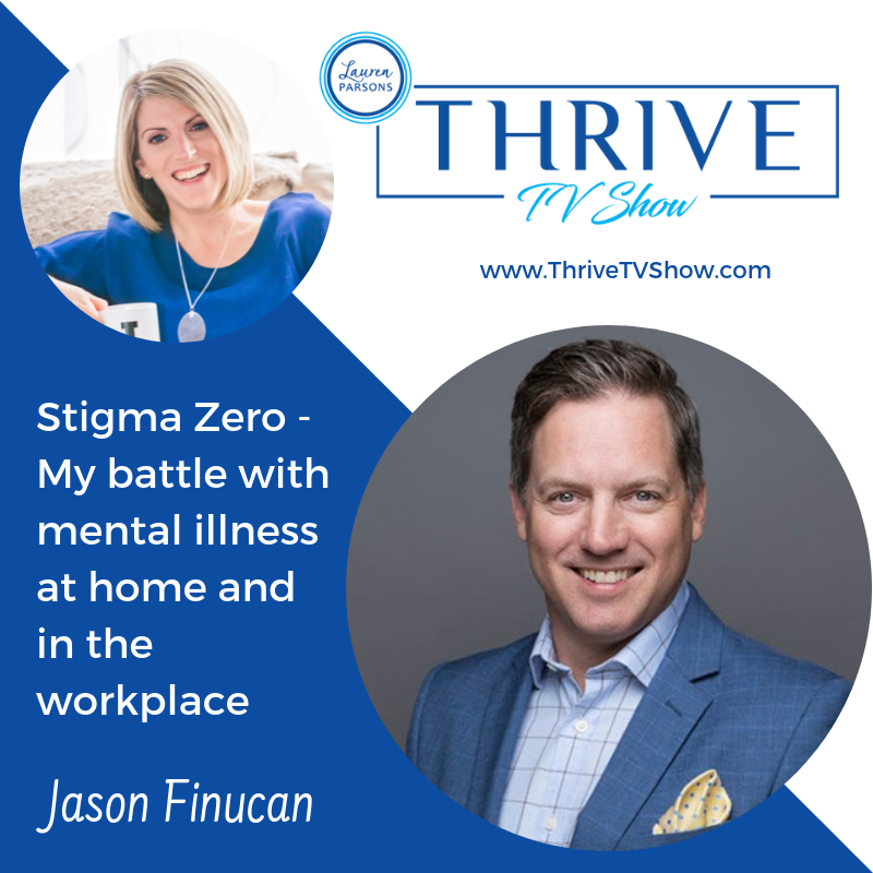 Lauren Parsons Wellbeing Specialists Thrive TV Show Podcast Jason Finucan