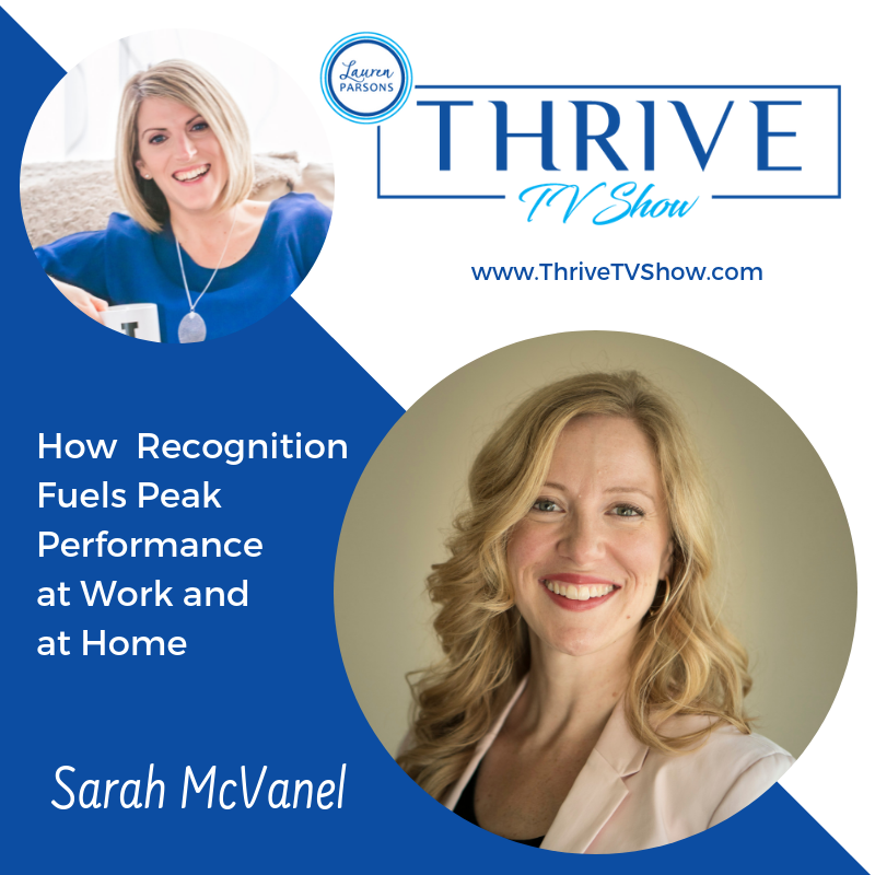 Lauren Parsons Wellbeing Specialists Thrive TV Show Podcast Sarah McVanel