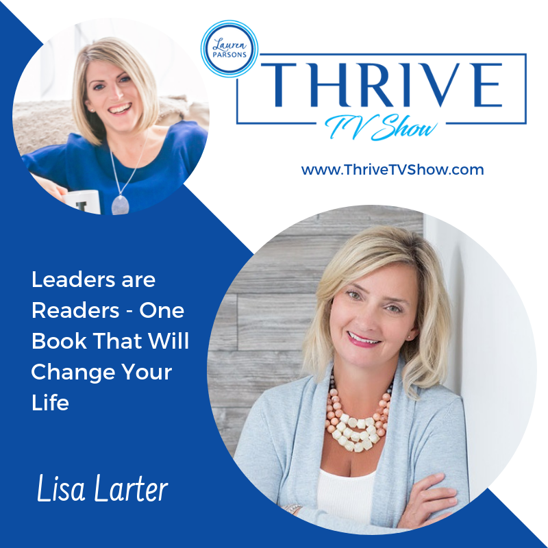 Lauren Parsons Wellbeing Specialists Thrive TV Show Podcast Lisa Larter